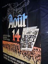 AOUT 14  affiche cinema guerre 14-18