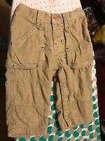 Baby Gap Baby Boys Beige Cord Trousers Age 12-18 Months