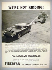 Fiberfab Car Kit PRINT AD - 1967 ~ Avenger GT-12 body for Volkswagen