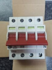 Wylex 125A 4 Module 4 Pole Mains Switch Isolator WS124