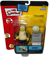 Simpsons Doug Action Figure WOS Intelli-Tronic MOC Series 16 Toy RARE Nerds!