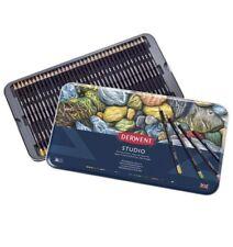 NEW Derwent studio 36 pencils Fine color set Tin Case