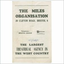 The Miles Organisation 1960s Artists Booklet Bob Wooler Collection (UK)