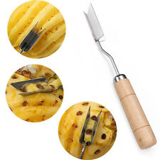 V Shape Stainless Steel Pineapple Eye Peeler Remover