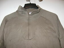 US MILITARY ECWCS POLYPRO COLD WEATHER SHIRT UNDERSHIRT LARGE DRMO ON BACK