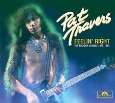 Pat Travers - Feelin' Right (NEW 4CD)