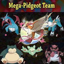 Ultra Pokemon Sun and Moon Mega-Pidgeot Team