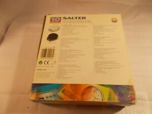Boxed Salter  Microtronic Kitchen Scales