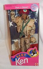 BARBIE MILITARY STARS & STRIPES ARMY KEN AA