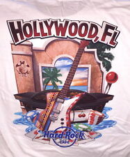 Hard Rock Cafe HOLLYWOOD FL 2017 City Tee T-SHIRT Mens Size 2X XXL NEW w/HRC TAG