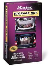Master Lock 3051DAT Adjustable Pickup/Van/Trunk Cargo Net with Storage Bag-New