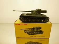 DINKY TOYS 817 TANK AMX 13 TONNES - ARMY GREEN - VERY GOOD CONDITION IN BOX