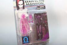 ++RARE++ Marilyn Manson Figure Fewture Models Mechanical Animals clear pink