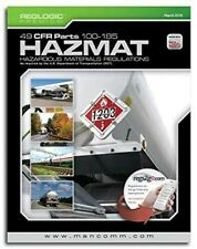 Hazmat 49 Cfr Parts 100-185 - Perfect Bound - (October 2019 Edition) Mancomm