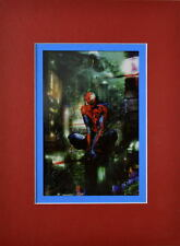 SPIDER-MAN Marvel ZOMBIE PRINT PROFESSIONALLY MATTED