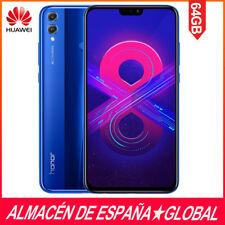 "Huawei Honor 8X 6,5"" Dual Sim Smartphone Android 8.1 4GB RAM+64GB Versión AZUL"