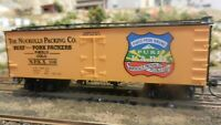 Roundhouse MDC Nuckolls Packing Co. Old Time 36'  Reefer, Upgraded, Exc