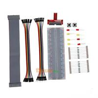 Primer External Expansion Breadboard Jumper Wire+Resistor Kit For Raspberry Pi 3