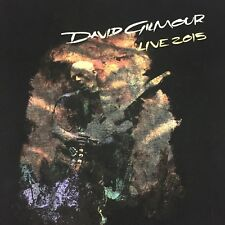 David Gilmour Live 2015 Black Medium T-Shirt Guitar Singer Concert Pink Floyd