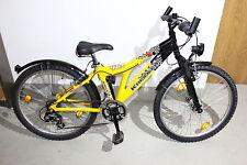 Kreidler Fahrrad Mountain Bike Trekking Fahrrad DARK RAVEN 46 Jugendrad 24 Zoll