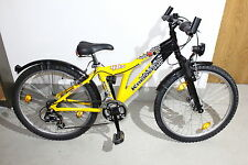 Kreidler Vélo Mountain Bike Trekking Vélo Dark Raven 46 Jugendrad 24 in