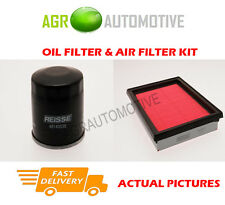 PETROL SERVICE KIT OIL AIR FILTER FOR NISSAN JUKE 1.6 117 BHP 2010-