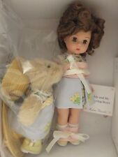 "Vintage Madame Alexander Doll 8"" Teddy and Me Collecting Bears #33020 MA05"