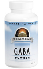 NEW SOURCE NATURALS GABA POWDER CALM MOOD SUPPORT SUPPLEMENT DAILY BODY HEALTHY