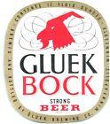 Gluek Bock Strong Beer Minneapolis Minnesota Brewing Bottle Label Original