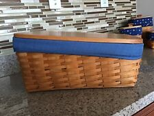 New ListingLongaberger Large Bin Combo(Cornflower Blue )