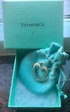 Tiffany & Co. Paloma Picasso Design;Open Heart Pendant Necklace, Sterling Silver