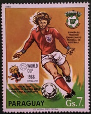 Stamp Paraguay 1980 7Gs World Cup Winners 1966 England Used