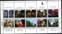 Liechtenstein 2014 Art, Painting, Rubens, Brueghel MNH**