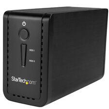 Startech.com USB 3.1 dual 8.9cm SATA (6gbps) HDD carcasa con RAID - Usb-c