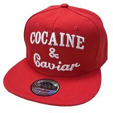 Dans son ouvrage Cocaine Snapback Casquette BASECAP Casquette Hip Hop Trucker Cappy Rouge Red Devil NEUF