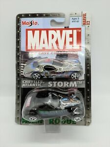 MARVEL Die-Cast Collection Chrysler Atlanic STORM & Chrysler Prowler ROGUE New