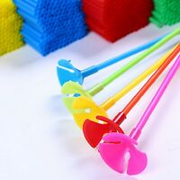 50pcs Mixed Color Balloon holder Sticks and Cups 40cm 27cm for Party wedding