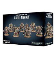 Warhammer 40k - Death Guard Plague Marines - Brand New in Box! - 43-55