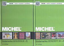 MICHEL Übersee volumen 3 piezas 1+2 2015/2016/2017 NUEVO