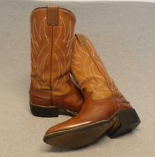 """Vintage Nocona Western Cowboy Leather Riding Casual Work Boots Men's 7D """"Usa"""""""