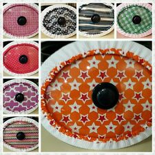 Slow Cooker Covers - ROUND Medium 19 cm - 21cm (measure lid&see descrptn pls)