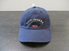 NEW Tommy Bahama Hat Cap Blue Red Marlin Relax Strap Back Adjustable Mens