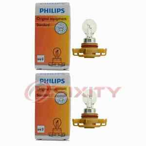 2 pc Philips Front Fog Light Bulbs for Dodge Avenger Caliber Challenger xz