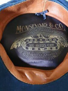 Baker boy hat mens Monsivais & Co hand made