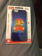 PDP Nintendo 8-Bit Retro Super Mario Bros iPhone 6 Hard Clip Case Blue Slim NES