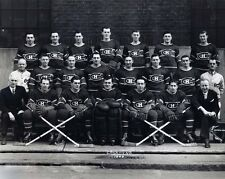 Montreal Canadiens 1945-46 Champs Team 8x10 B&W Photo