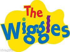 2x The Wiggles Craft T-Shirt for DARK or LIGHT fabrics Iron On Transfer 9x6.5cms