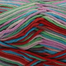 Rico Creative Cotton Aran Print Knitting & Crochet Yarn - Multi-Colour Mix 003
