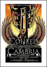 COHEED AND CAMBRIA KUNSTDRUCK VON JOE WHYTE