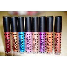 Sacha Velvet Matte Metallic Liquid Lipstick– Transfer Proof Intense Colors